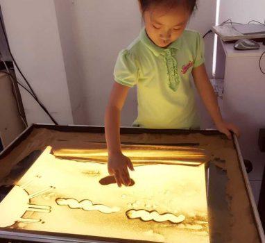 孩子学习沙画的好处
